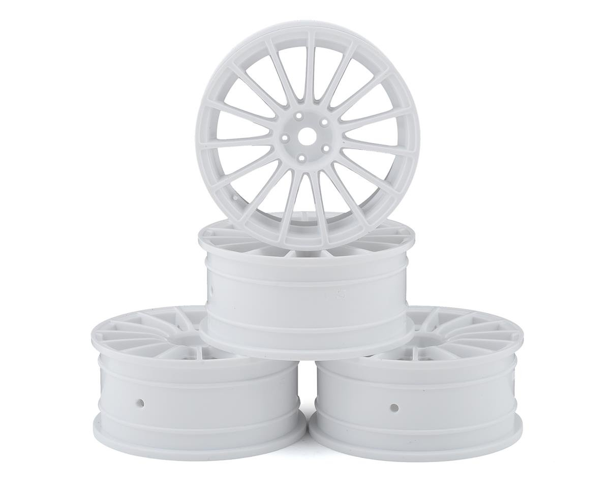 MST 24mm LM Wheel (White) (4) (+0 Offset)