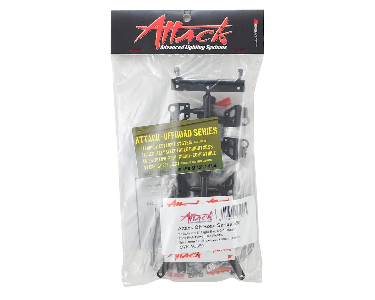 "MyTrickRC Attack Off Road 850 Series Light Kit w/DG-1 Controller, 5"" Bar & LEDs"