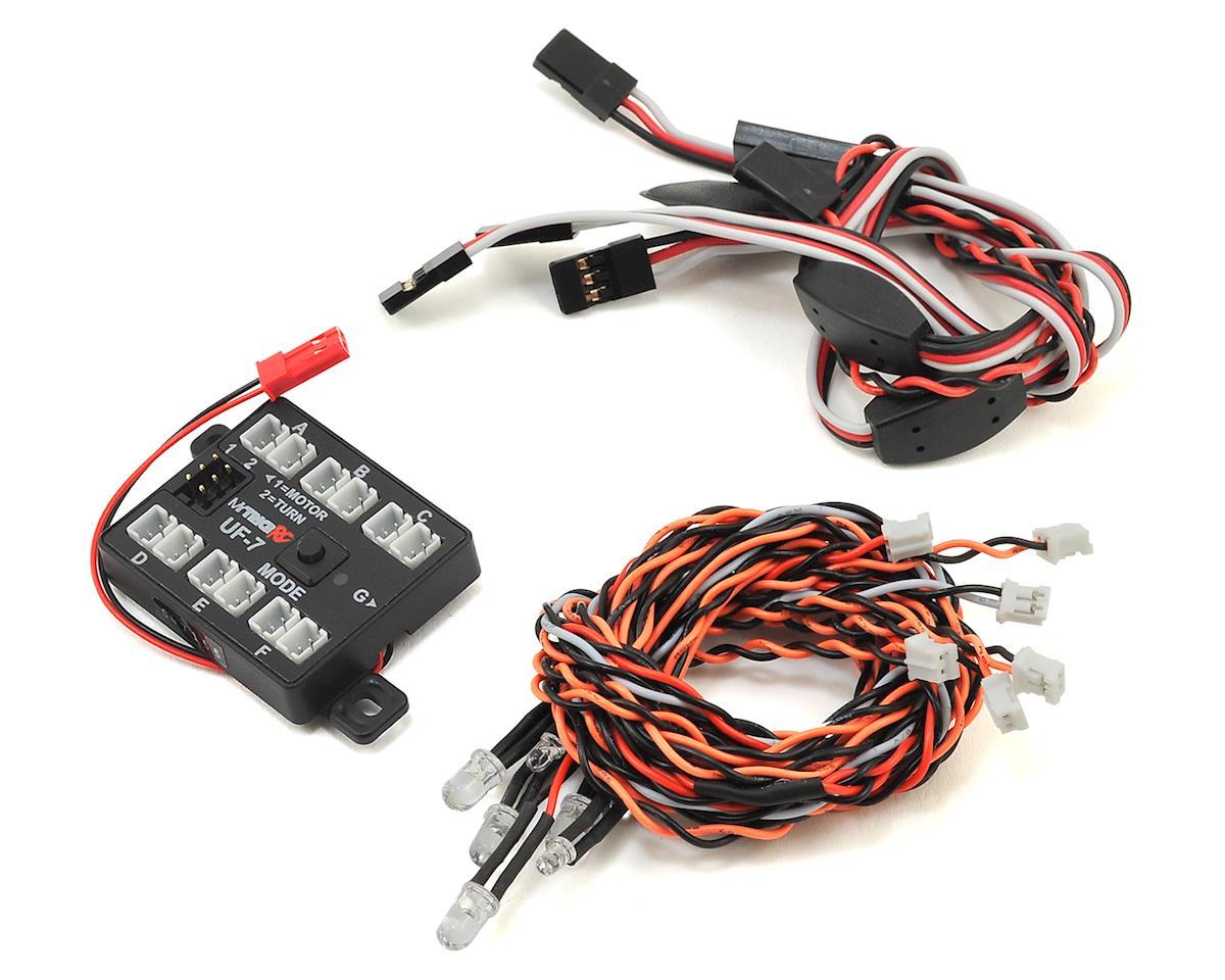 MyTrickRC 2 Headlight Car Kit w/UF-7 Controller & 6 LEDs