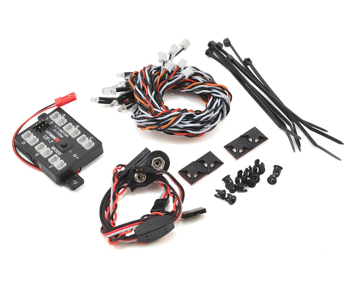 UF-7 Rock Crawler Light Kit w/Controller & LEDs by MyTrickRC