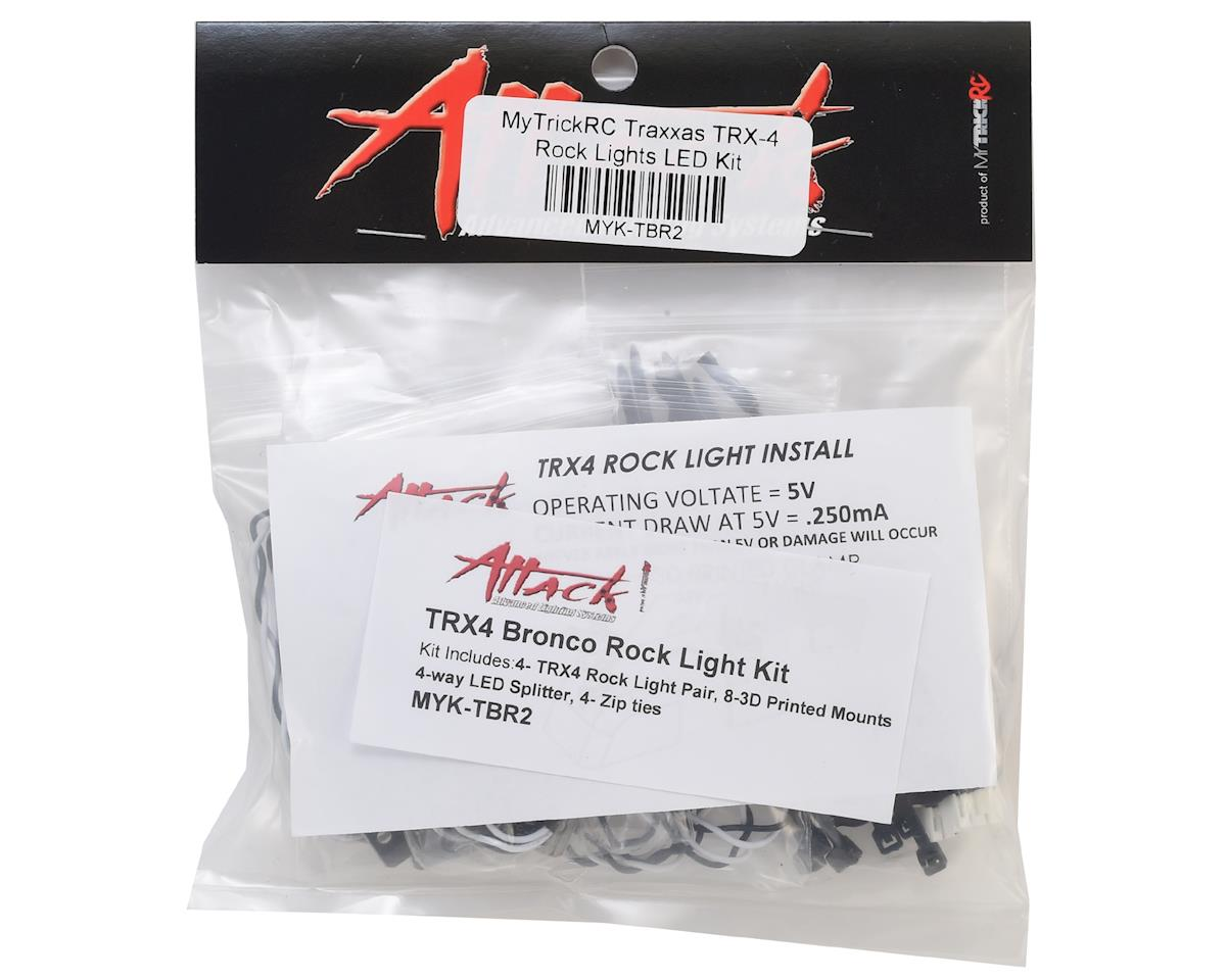 MyTrickRC TRX-4 Bronco Rock Lights LED Kit