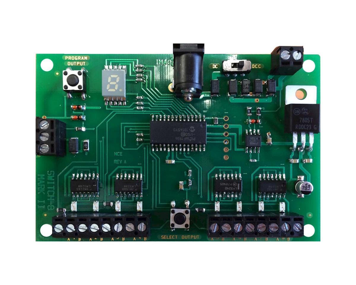 NCE Corporation Decoder, 8 Tortoise Switch Machine