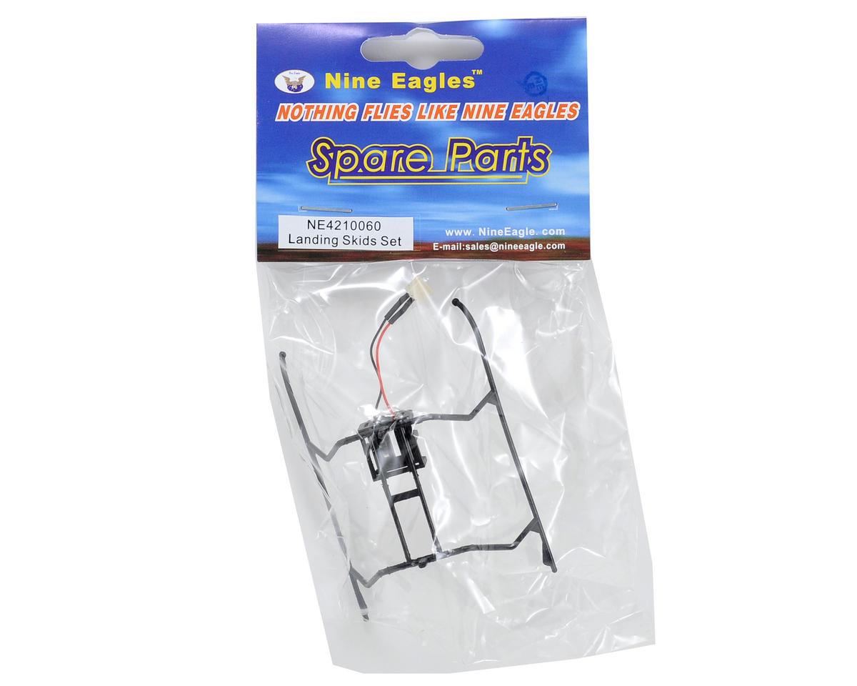 Nine Eagles Landing Skids (Black)