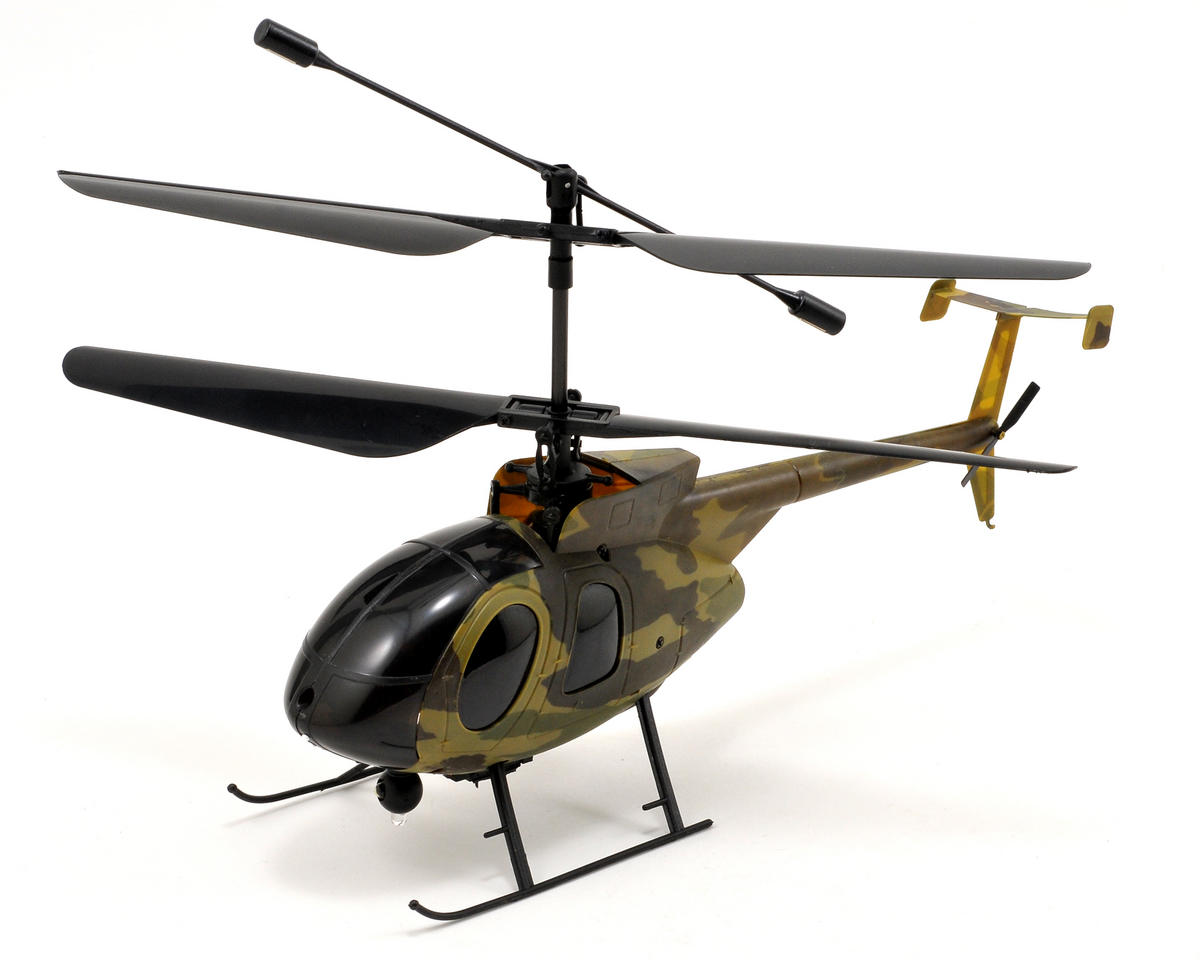Nine Eagles Bravo III CX Military Coaxial RTF Nano Helicopter w/2.4GHz Radio System