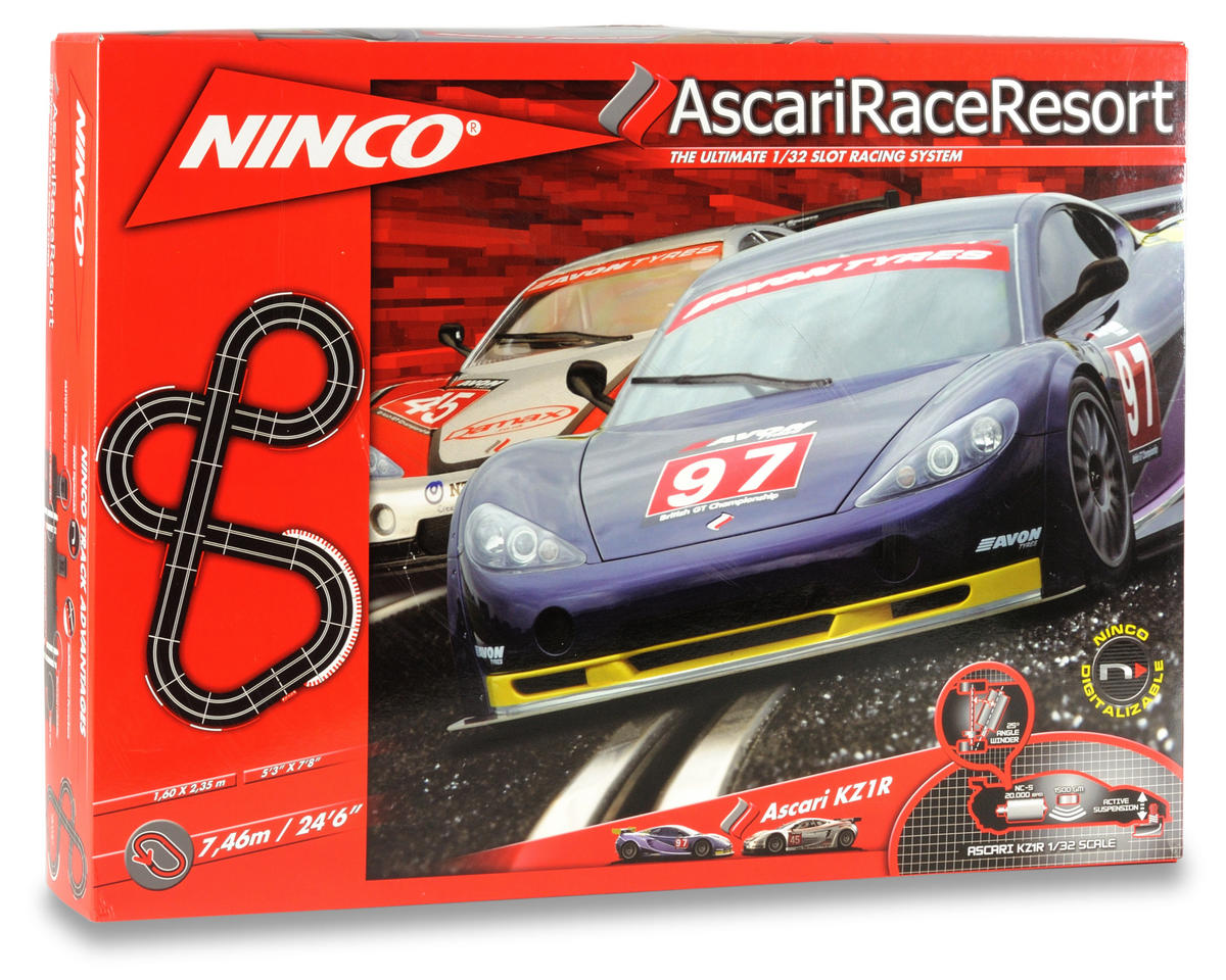 Ninco 1/32 Ascari Race Resort Set