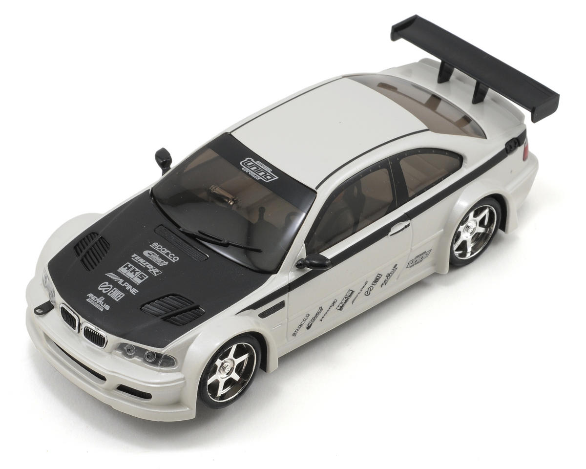 "Ninco 1/32 ""Tuning Style"" BMW M3 GTR Slot Car (White)"