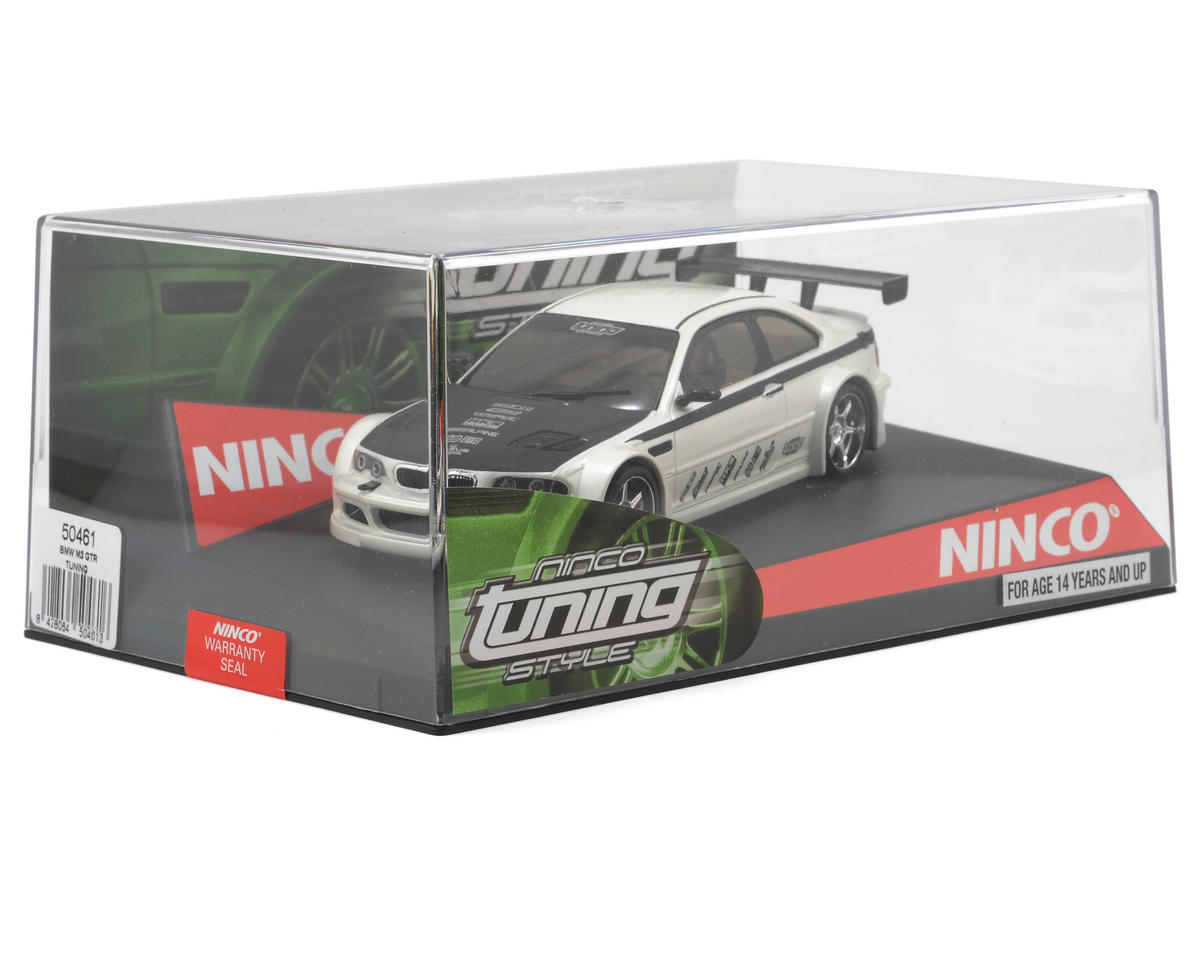 "Ninco 1/32 ""Tuning Style"" BMW M3 GTR Slot Car (White)"