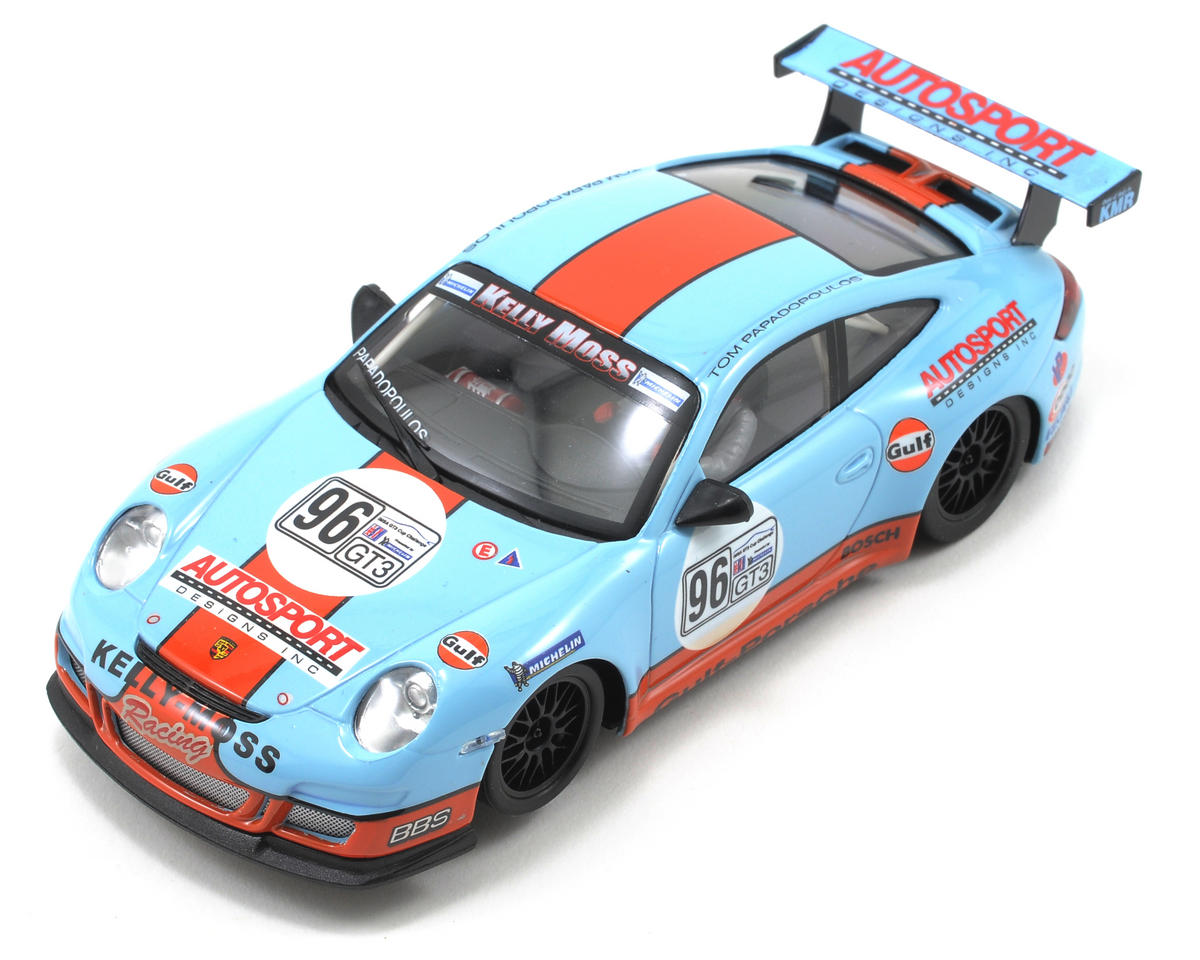 """Ninco 1/32 Porsche 997 """"Gulf"""" Slot Car"""