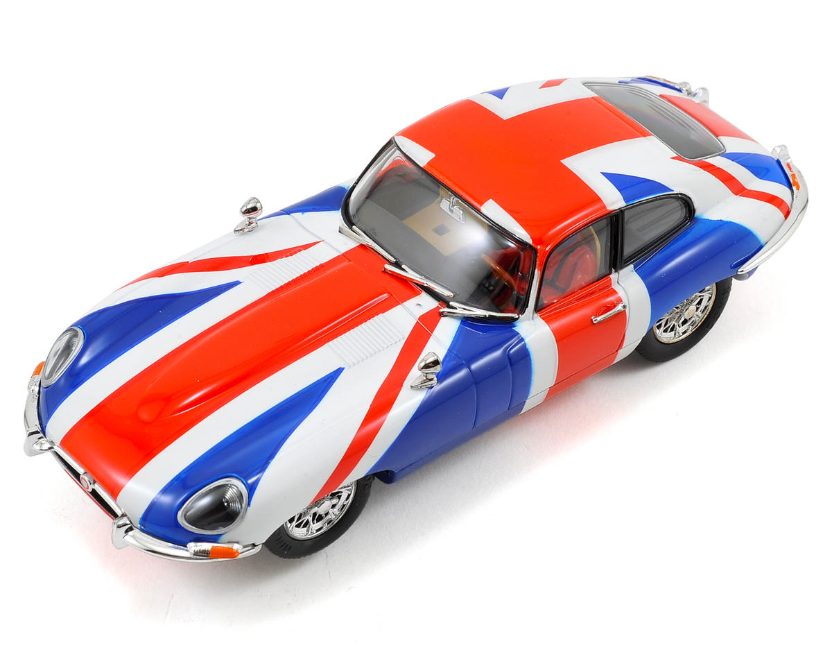 "Ninco 1/32 Jaguar E-Coupe ""Union Jack"" Slot Car"