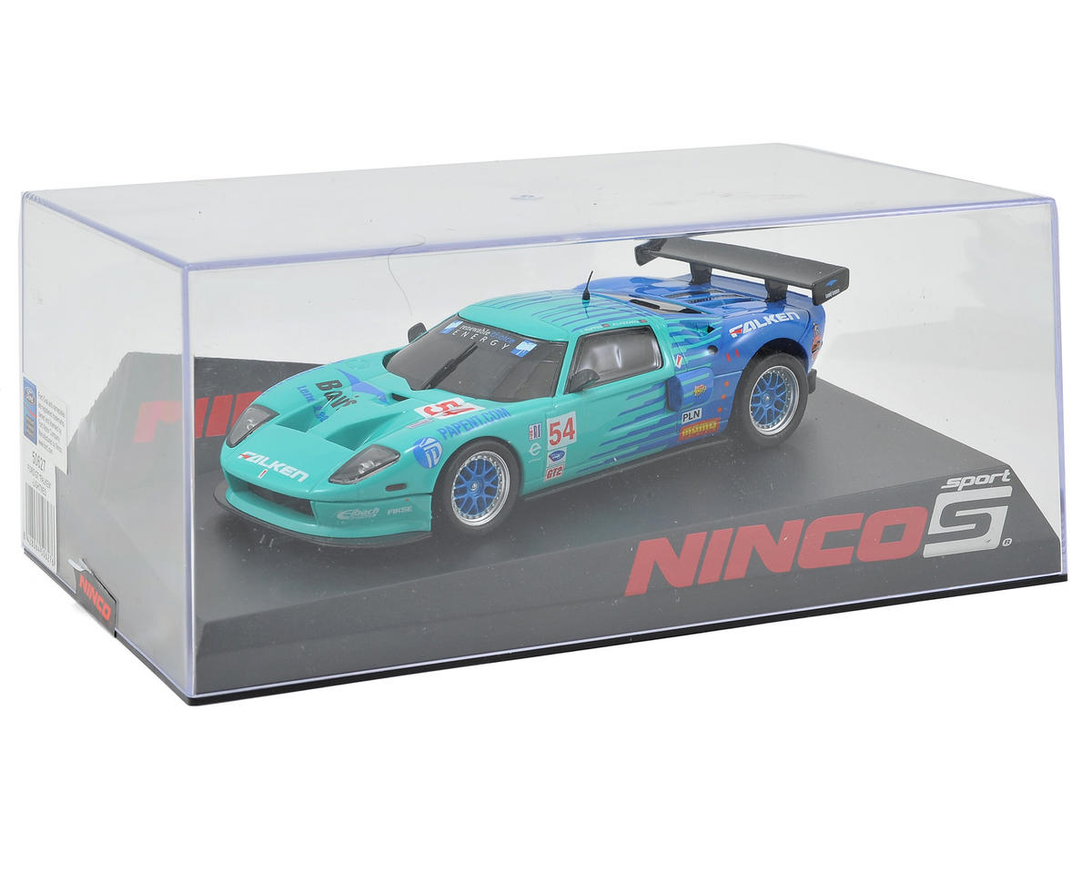 "Ninco 1/32 Lightened Ford GT ""Falken"" Slot Car"