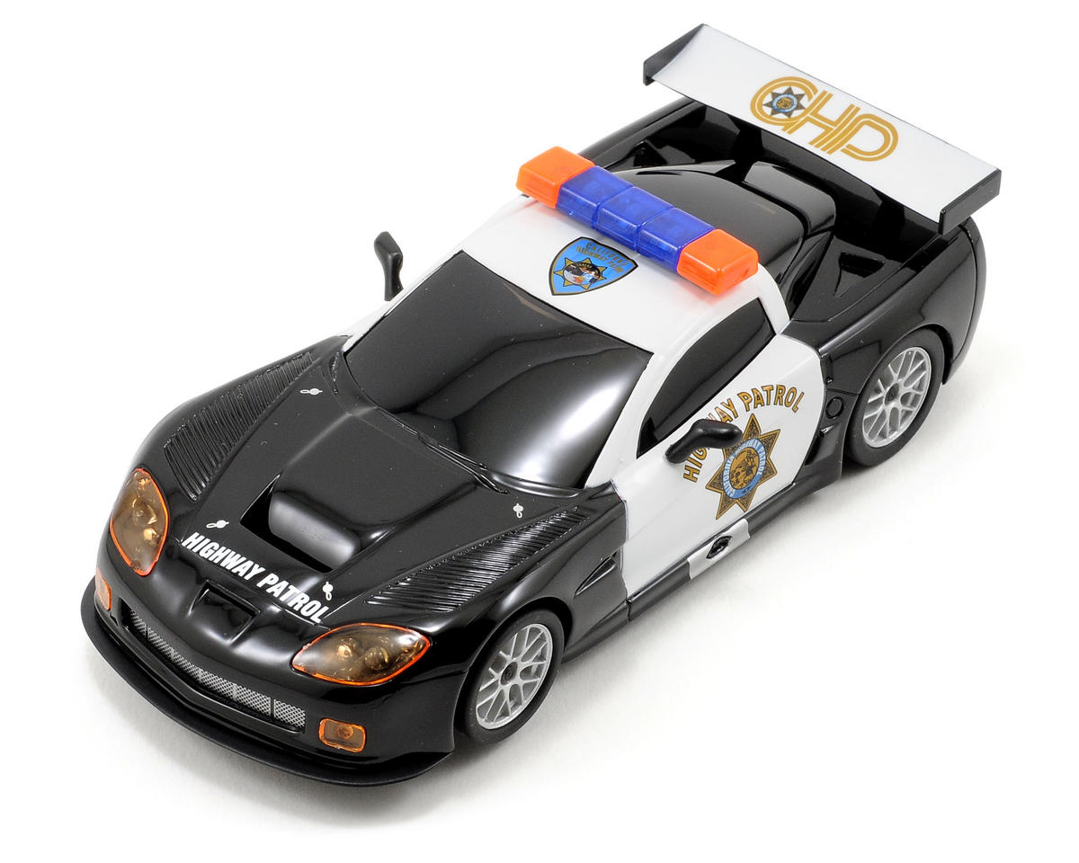 "Ninco 1/32 Corvette ""Highway Patrol"" Slot Car"