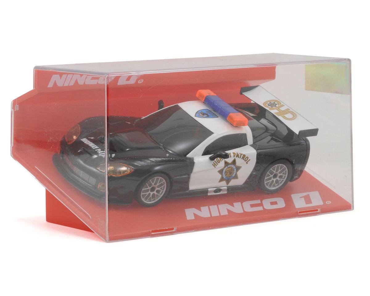 "Ninco 1/32 Corvette ""Highway Patrol"" Slot Car"