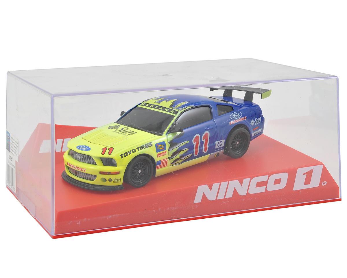"Ninco 1/32 Ford Mustang ""Sun"" Slot Car"