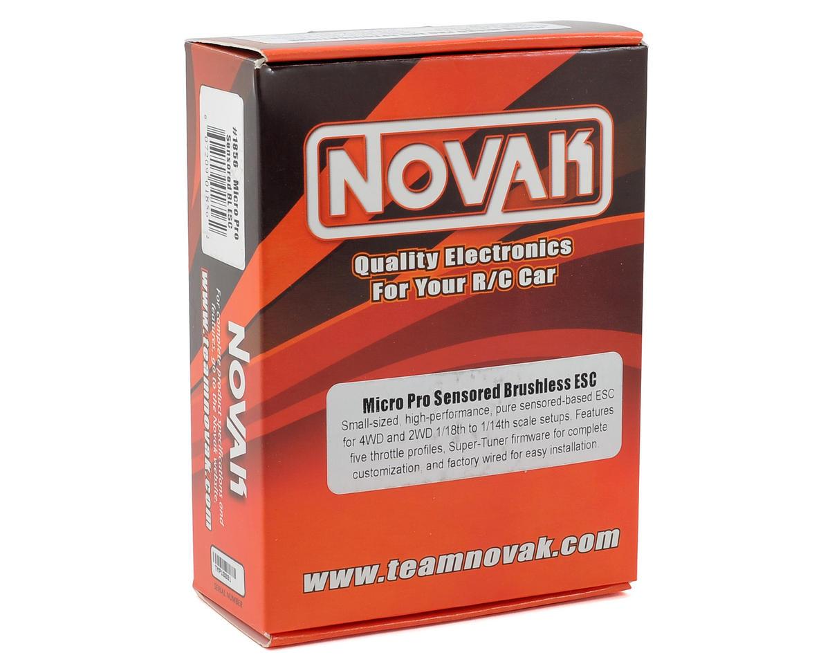 Novak Micro Pro Racing Brushless ESC w/Super Tuner