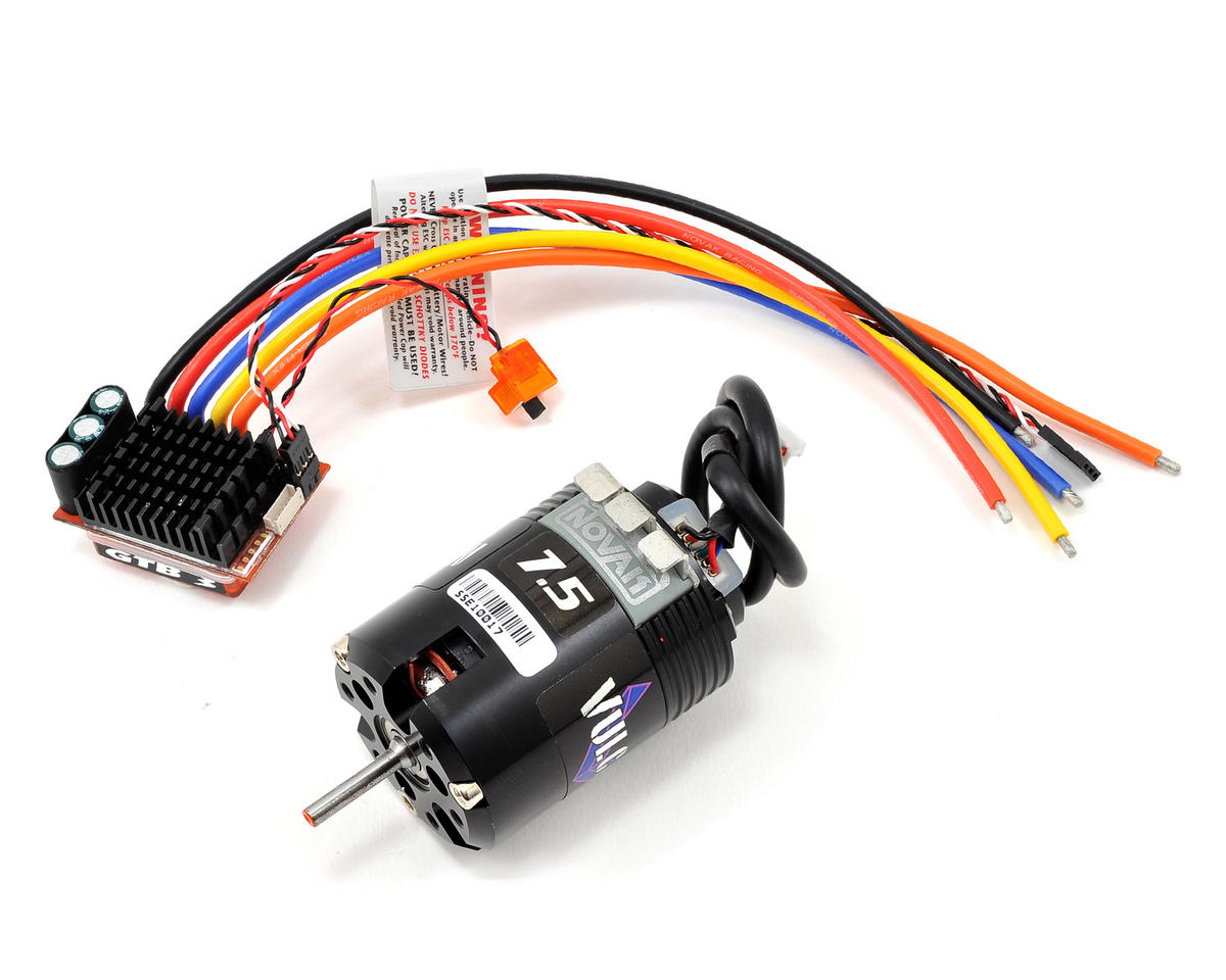 Novak GTB 3 Brushless ESC/Vulcan Modified Brushless Motor Combo (7.5T)