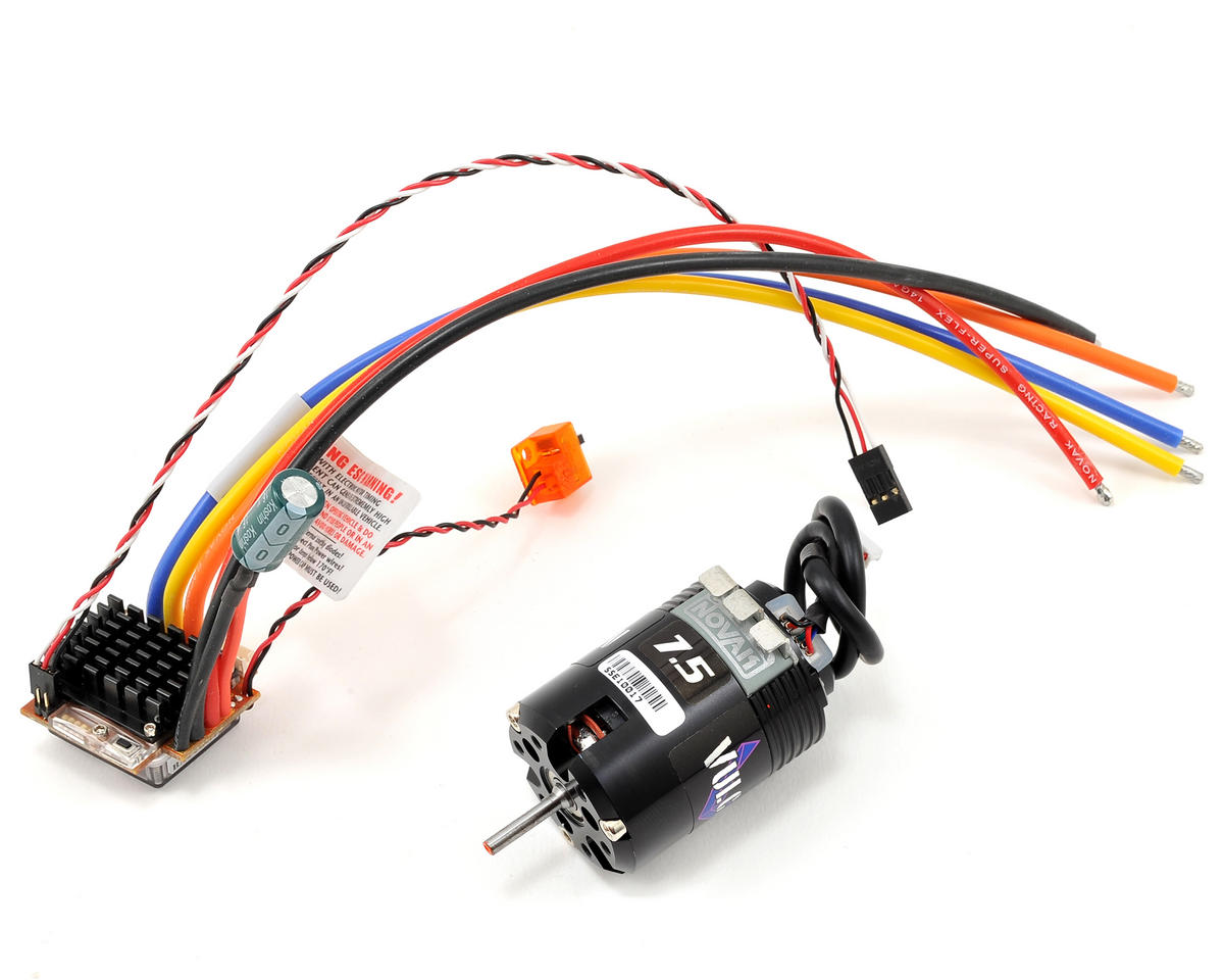 Novak Impact Brushless ESC/Vulcan Modified Brushless Motor Race Combo (7.5T)
