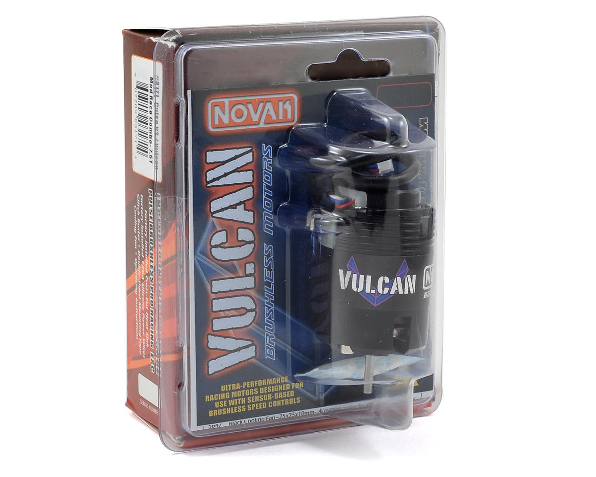 Novak Pulse V2 Brushless ESC/Vulcan Modified Brushless Combo w/X-Drive (7.5T)
