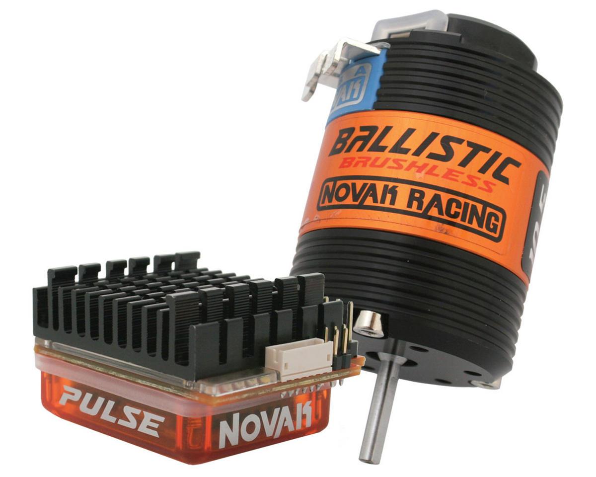 Novak Pulse Brushless ESC/Ballistic Brushless Spec Motor Combo w/Super Tuner (10.5T)