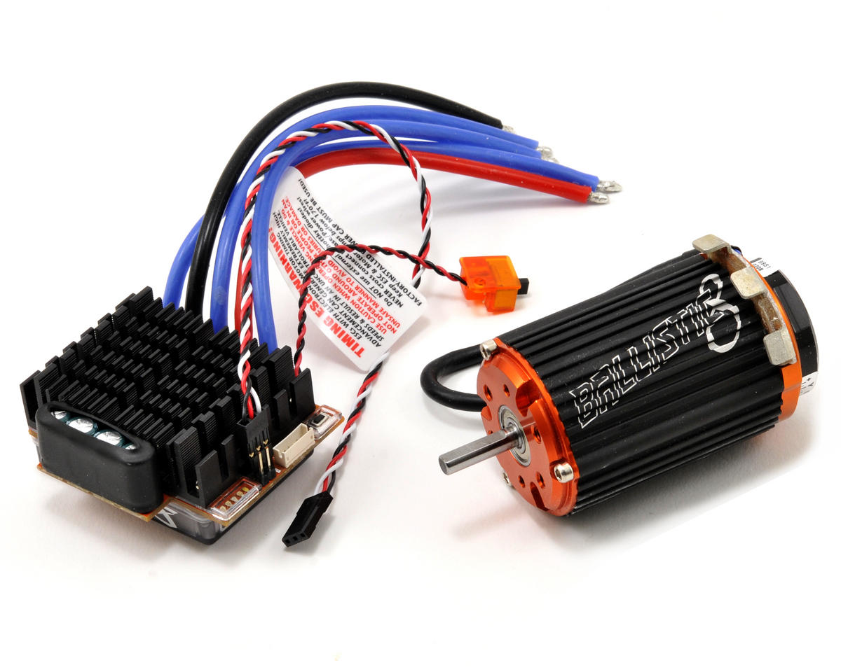 Novak Activ8 1/8th Scale Competition Brushless ESC/Ballistic 8 Motor Combo (1.5Y/1,950kV)