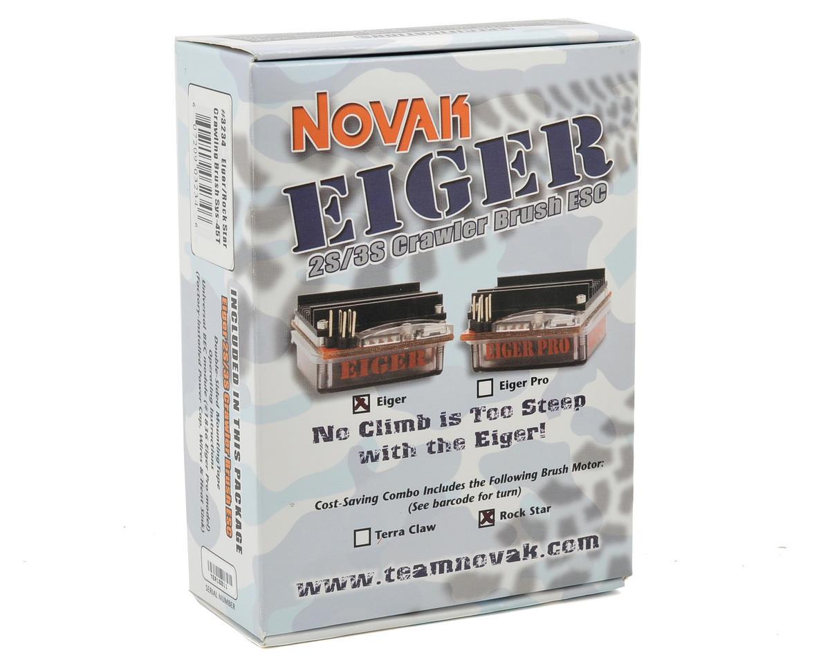 Novak Eiger Crawling ESC/Rock Star Brushed Motor Crawler System (45T)