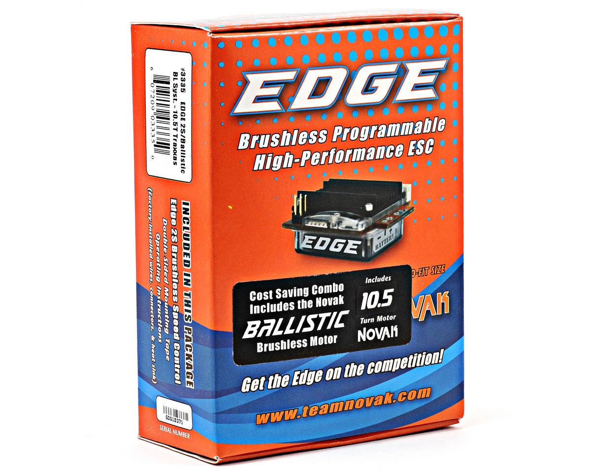Novak EDGE 2S Brushless ESC/Ballistic Brushless Motor System (10.5T)