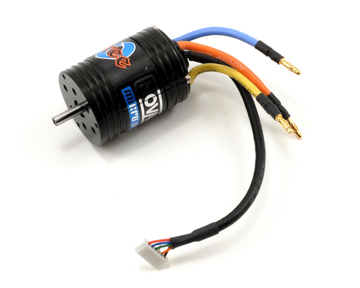 Novak Three-80 Micro Pro Sensored Brushless Crawler Motor (18.5T/4400kV)