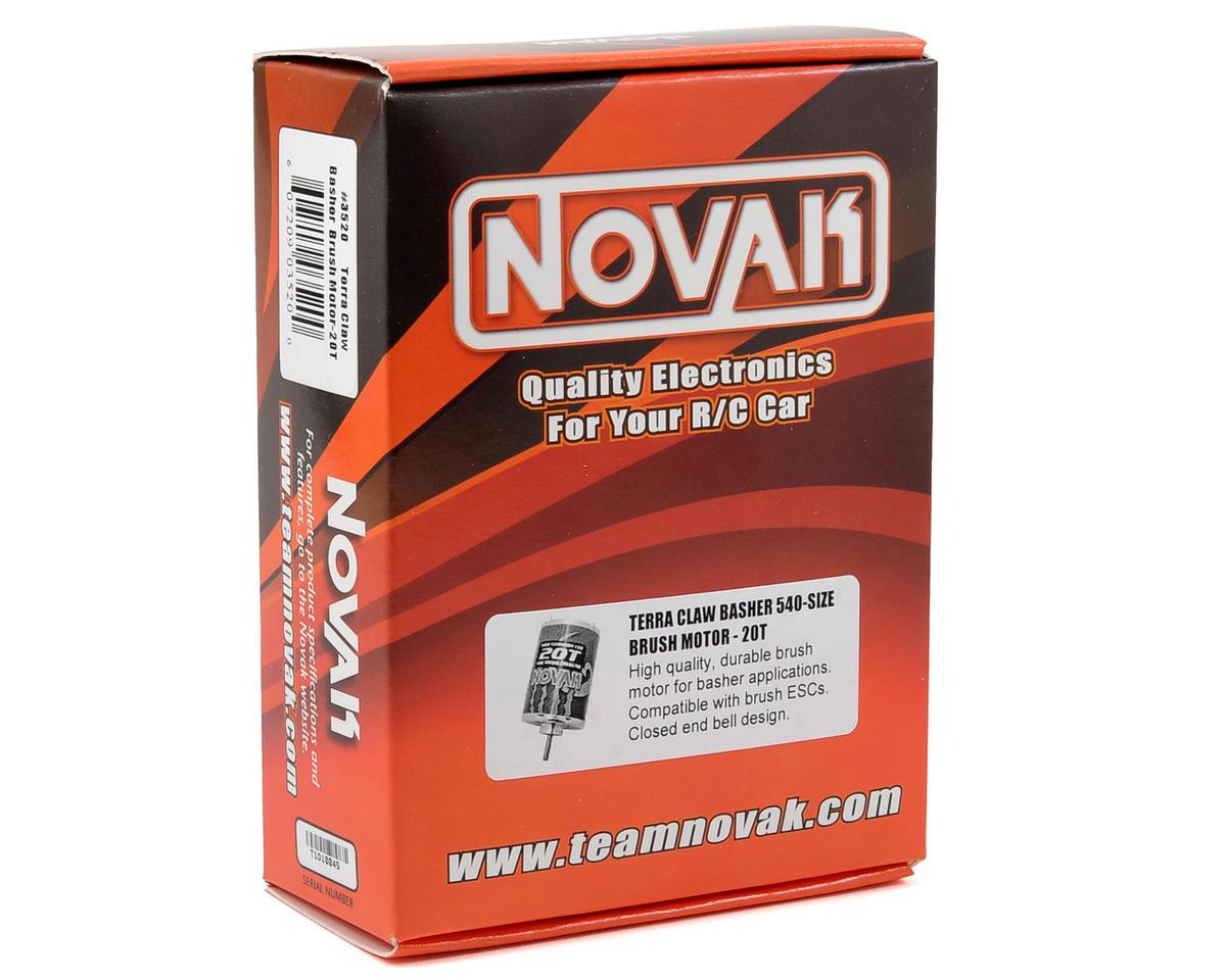 Novak Terra Claw Basher Brushed Motor (20T)
