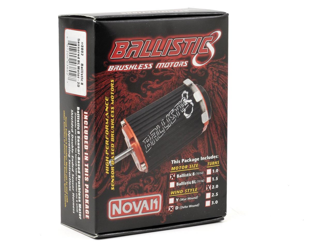 Novak Ballistic 8 Sensored Brushless Motor (2D/2,650kV)