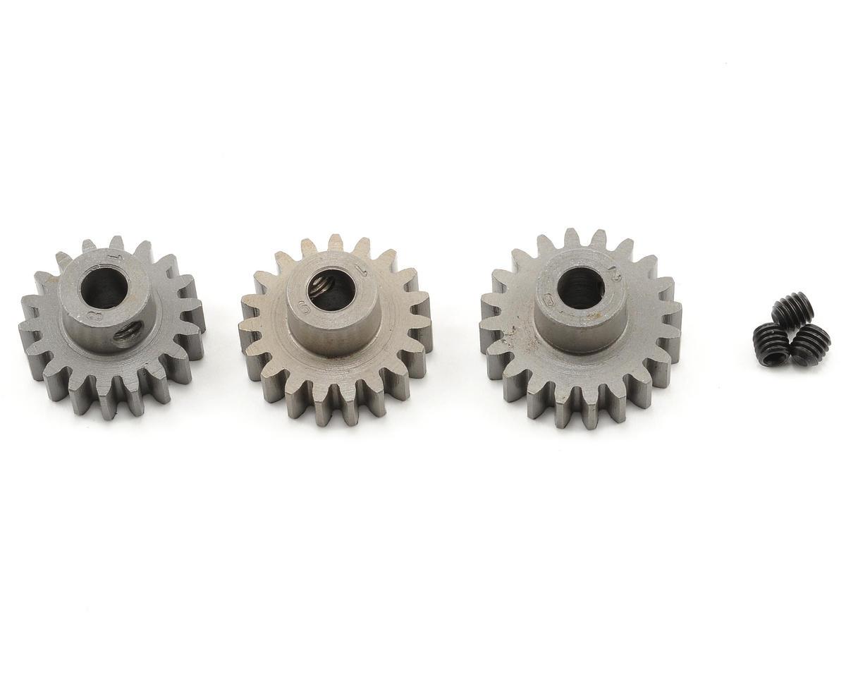 Novak 5mm Bore Steel Mod 1 Pinion 3-Pack (18,19,20)