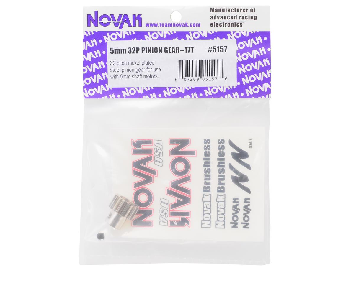Novak Steel 32P Pinion Gear w/5mm Bore (17T)
