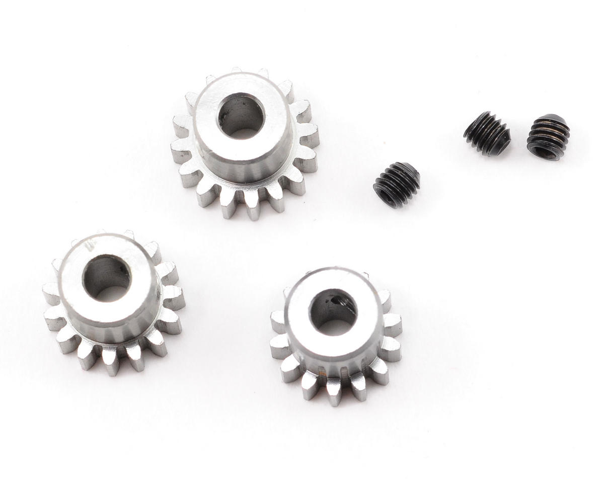 Novak Mod 0.6 Aluminum Pinion Gear Set (14T/15T/16T)