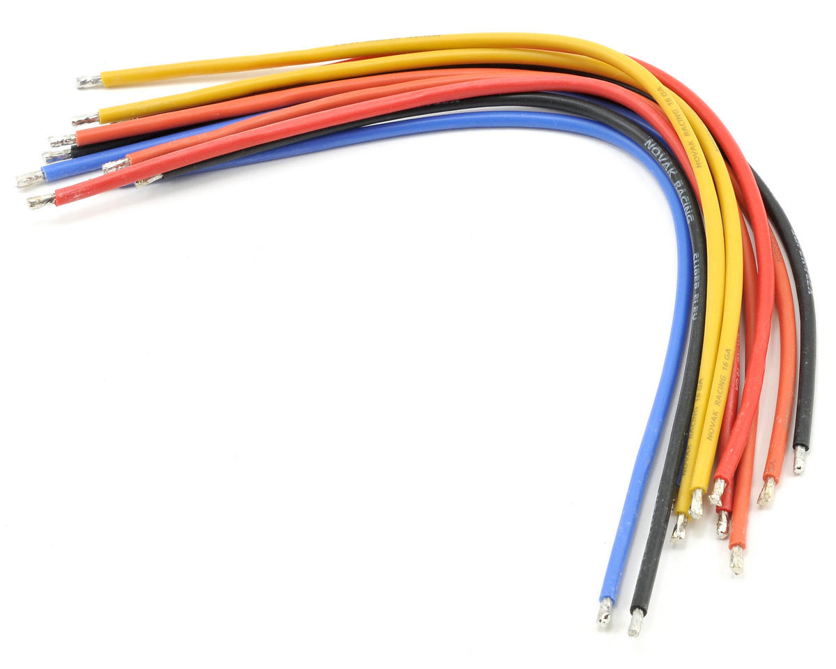 Novak 16awg Brushless Silicone Wire Set (10)