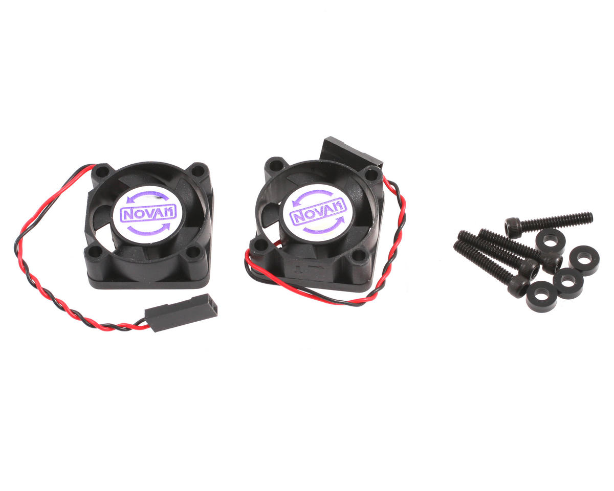 Novak Black Cooling Fan/JST plug (2-pk)