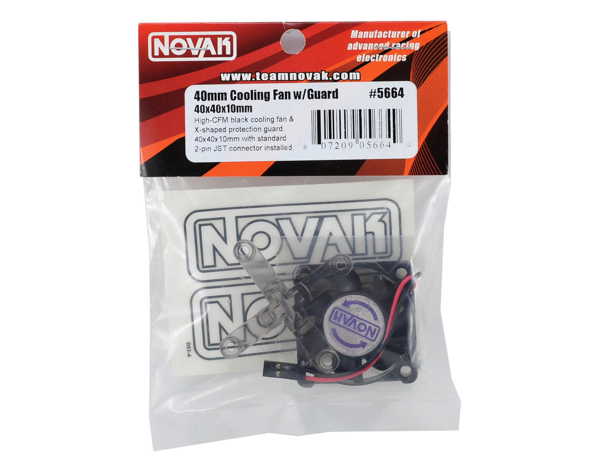 Novak 40x40x10mm Cooling Fan w/Guard