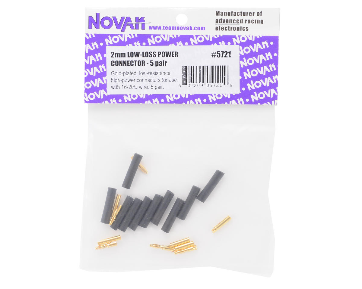 Novak 2mm Gold Power Connector (5)