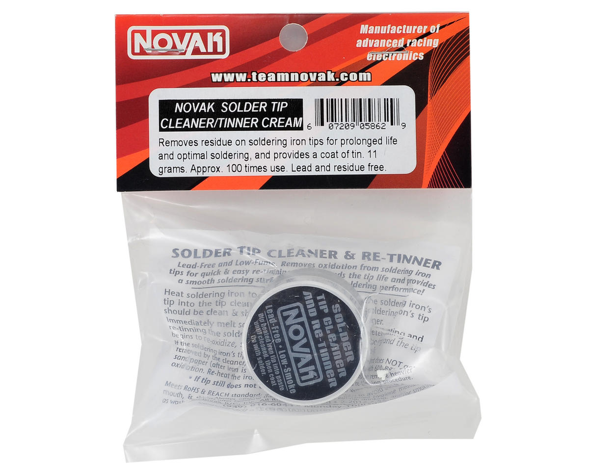 novak solder tip cleaner tinner cream 11g nov5862 cars trucks amain performance hobbies. Black Bedroom Furniture Sets. Home Design Ideas