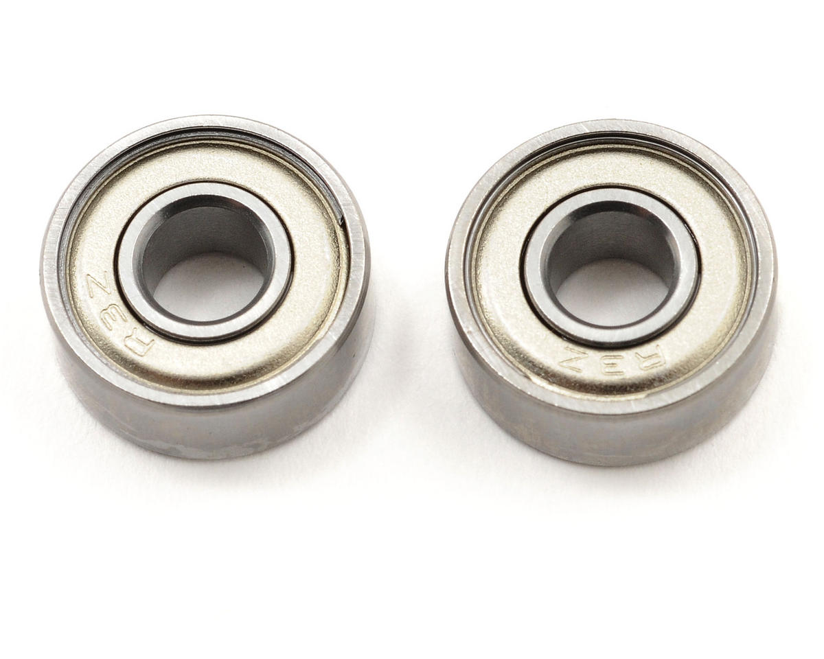"Novak 3/16x1/2x0.1960"" ABEC-5 Steel Ball Bearing (2)"