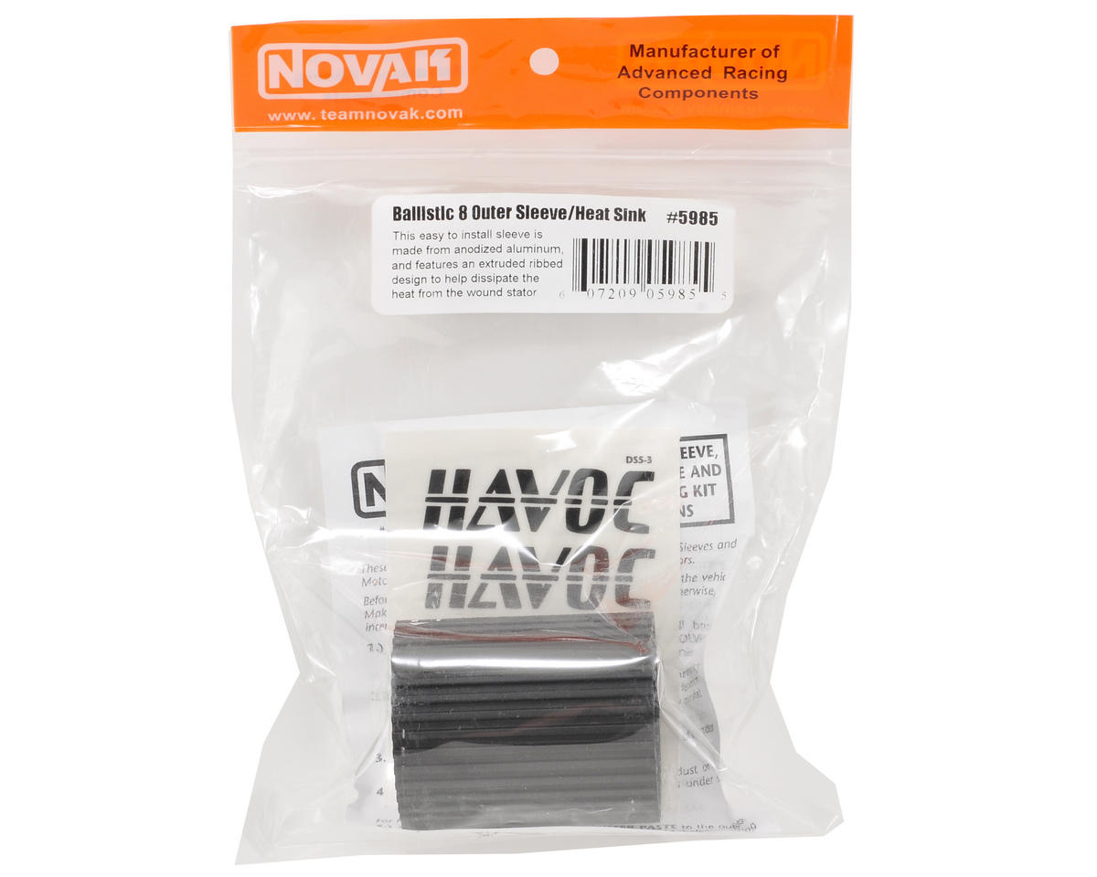 Novak Ballistic 8 Outer Sleeve & Heat Sink