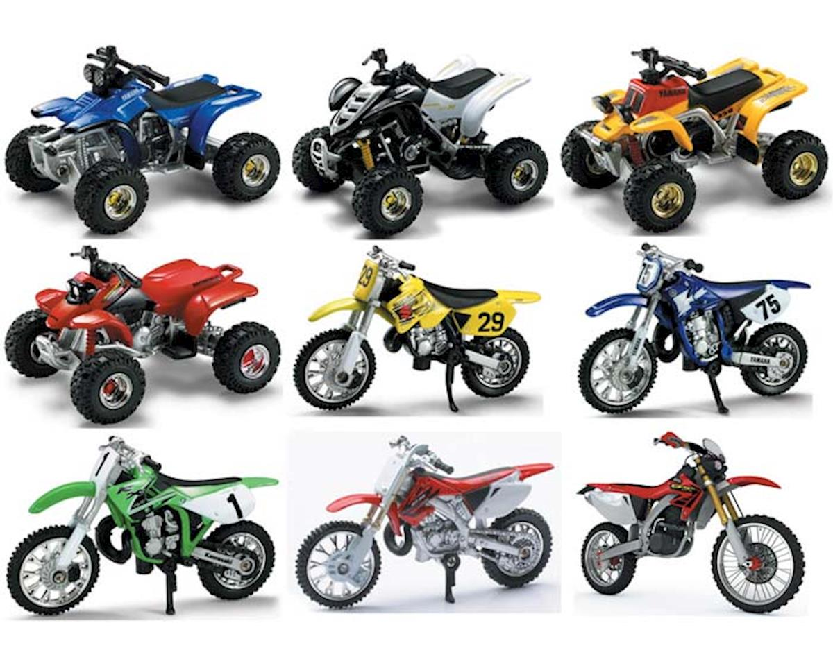 New Ray 1/32 Dirt Bike & ATV Assortment (1)