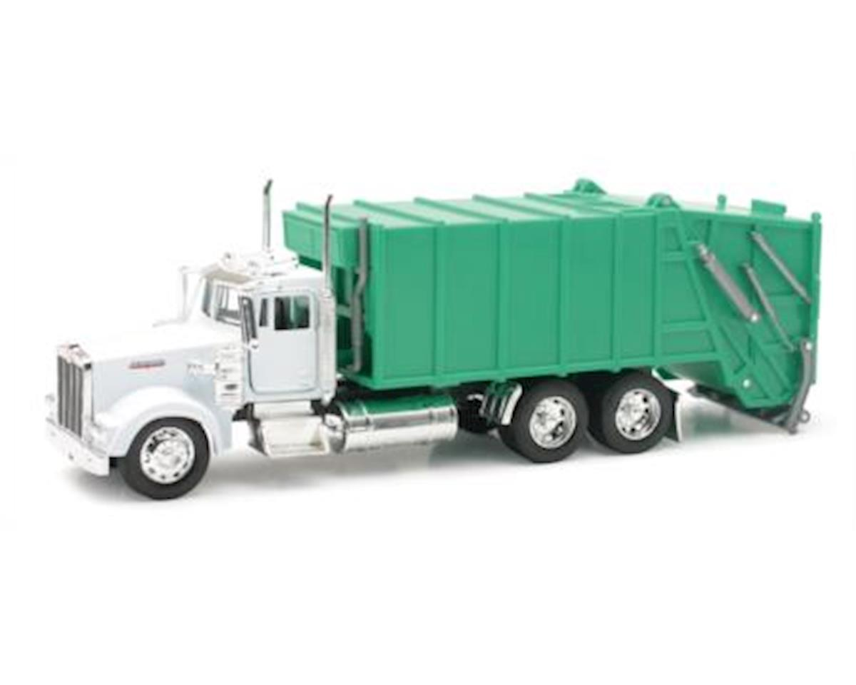 1/32 D/C Kenworth W900 Garbagetruck by New Ray