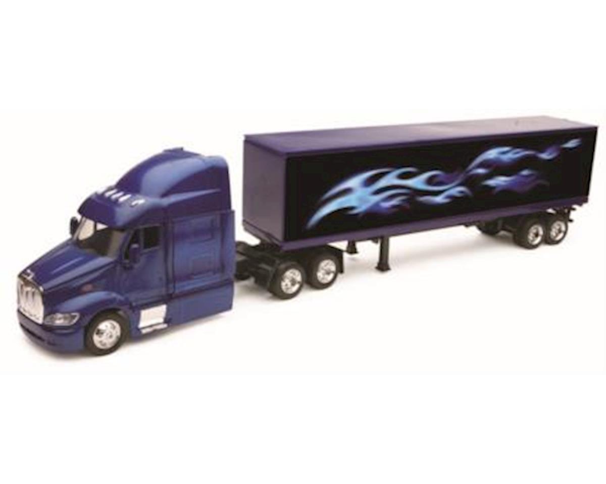 New Ray 1/43 D/C Peterbilt387 Truck&Trailer