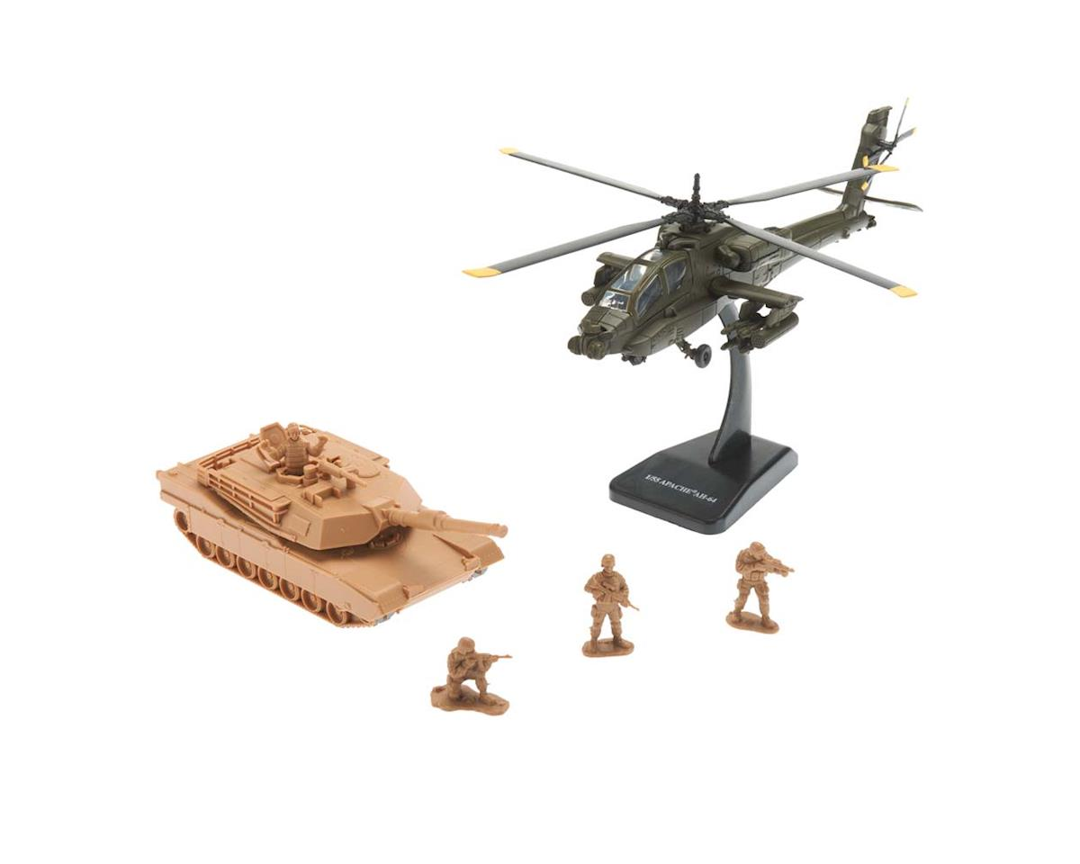 New Ray 1/55 Apache Ah-64 Helicopter