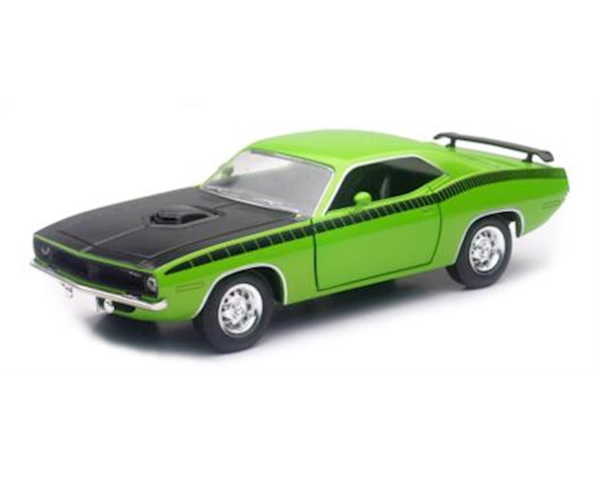 New Ray 1/24 Plymouth Cuda Green