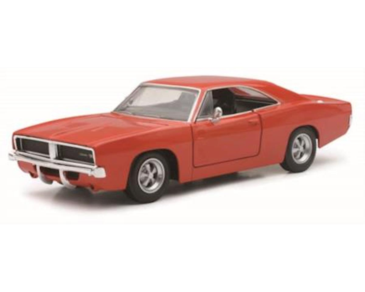 1/25 1969 Dodge Charger Rt Black by New Ray