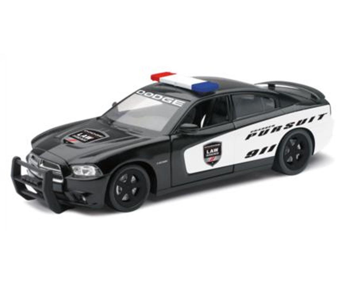 New Ray 1/24 Dodge Charger Pursuit Police Car (Die Cast)