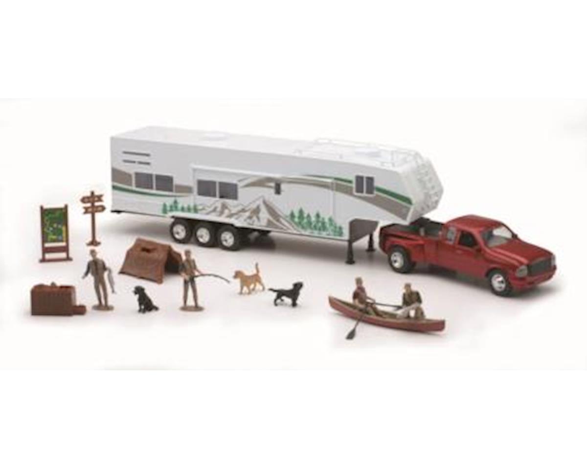 Die Cast Pick Up Camping Set