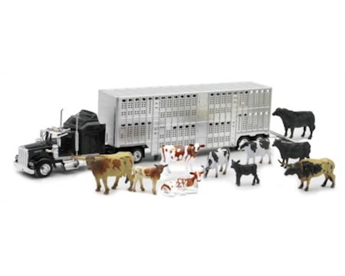 D/C Livestock Hauler W/Farm Animals