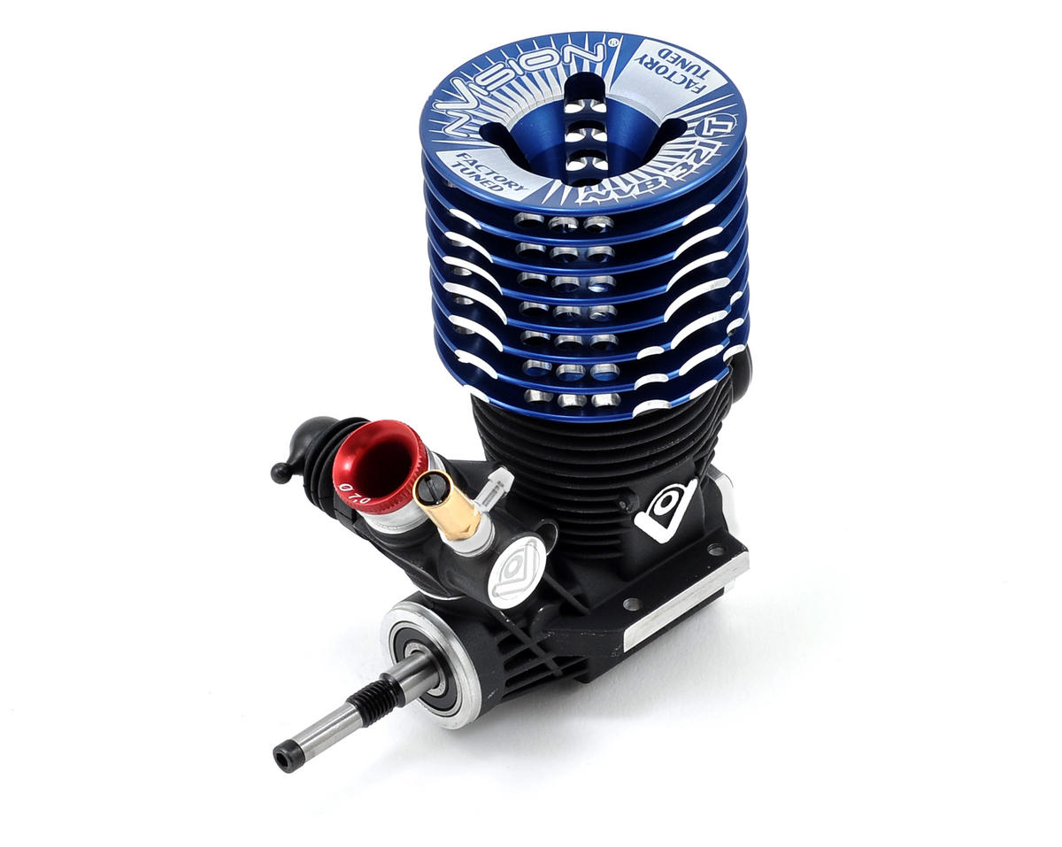 nVision NVB321T 3-Port .21 Tuned Off Road Engine (2012) (Turbo Plug)