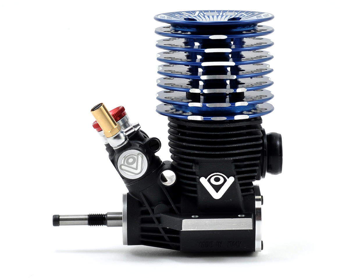 nVision NVB321T 3-Port .21 Tuned Off Road Engine w/2058 Tuned Pipe (2012) (Turbo Plug)