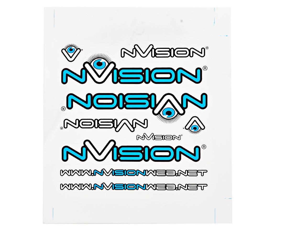 nVision Small Sticker Sheet Set (3)